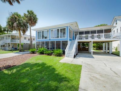Blue Sky - Awesome Beach Getaway - Private Heated Pool - Glass Porch - Screened Porch
