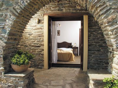 Photo for Beautiful, quiet, Cycladic house in Andros