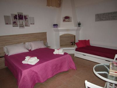 Photo for B & B up between olive trees and jonica coast / happy room / smile room