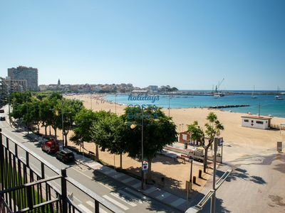 Photo for renovated apartment on the beachfront in Palamós