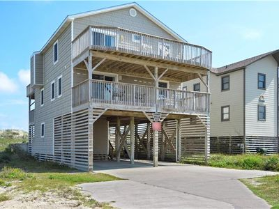 Photo for Oceanfront 5 Bedroom, 4 Bathroom, Private Pool! Pet Friendly, South Nags Head