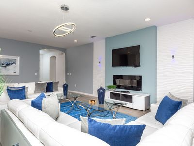 Photo for Solterra Manor | Amazing Luxury Villa with Games Room, Movie Room & Gym