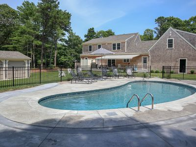 Photo for Brand New Custom Brewster Home with Heated Pool, 4 Min Walk to Private Beach: 105-BF