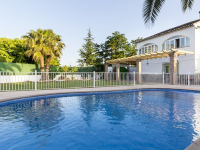 Photo for Beautiful Andalusian house with views, private pool and garden