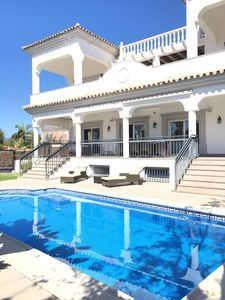Photo for Gorgeous property 5 bedrooms near Puerto Banus! 200 meters from the beach!!