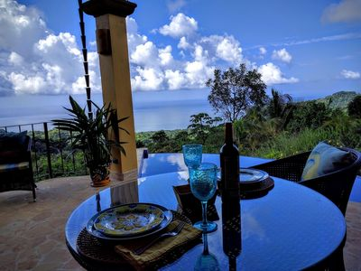 Photo for Luxury Casita for 2 - Amazing Ocean Views, Toucans, Parrots & Monkeys - Oh My!