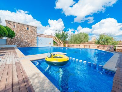 Photo for SHORT (SHORT DEN RITA) - Villa with private pool in es Llombards.