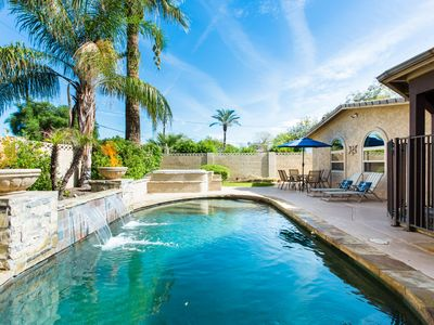 Photo for ⭐️ Outdoor Oasis - Heated Pool + Spa Near Old Town