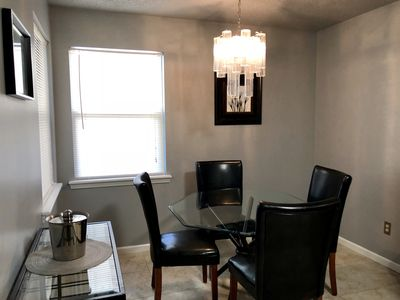Breakfast nook - table for 4 in kitchen
