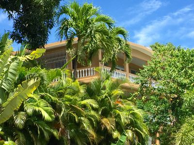 Photo for Exquisite Hillside House with Fabulous Ocean Views - WiFi, A/C, & Beach Gear!