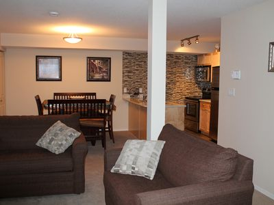 Photo for Sun-Facing 1Bdr Condo with Ski in Access, Mountain View, and free WiFi