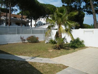Photo for Nice apartment with private garden in Escala Costa Brava near the beach