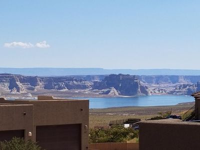 Photo for Upscale, Spacious Townhome near Marina with Exceptional Views of Lake Powell & Mountains