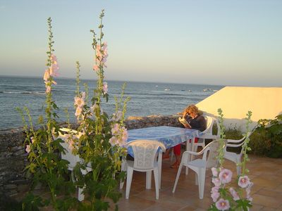 Photo for Villa on the sea front in Noirmoutier Island 8 people