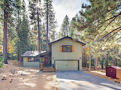 Exterior - Situated on a large forested lot between 3 area ski resorts.