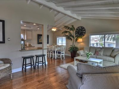 Photo for April $165 Special, 1 Block to Beach & CDM Village, Garage & A/C