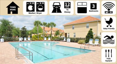 Photo for Perfect for Families! (Baby Friendly) - Quiet Retreat Close to Disney/Universal