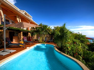 Photo for 3-4 bedrooms villa with panoramic view (MQDI57)