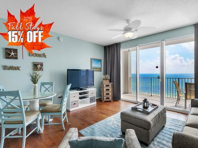 Photo for 15% OFF FALL +FREE VIP Perks! Pool~Hotub @Resort! Updated 8th FLR BEACH View!