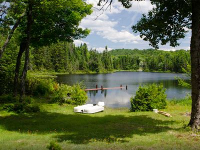 Photo for Lakeside Cosy Chalet In Sainte - Lucie - Des - Laurentides