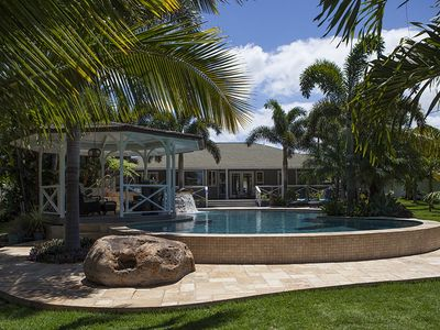Photo for Kihei Oasis! Permitted Private Home! 1/2 acre! 40,000 gallon heated pool!
