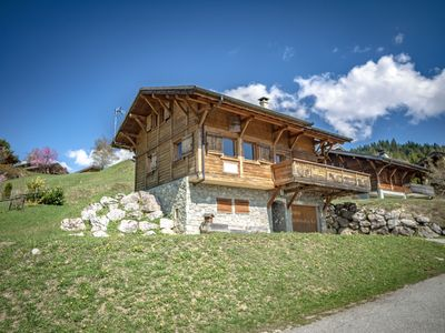 Photo for Chalet Novelin, 12 people, 450m from Lac des Gets