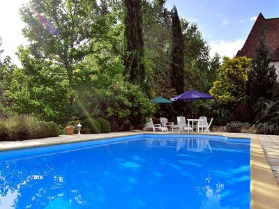 Photo for 3 bedroom Villa, sleeps 8 in Thenon with Pool and WiFi