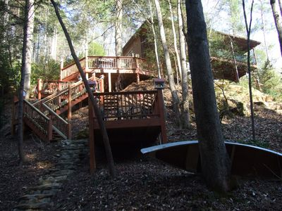Photo for 'BEARADISE CHALET' UNIQUE Secluded Retreat Estate (WHO'LD GUESS IT'S IN TOWN?)