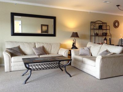 Photo for Large 2 BR, 2 full  bath Lake view condo at Park Place at the Lake
