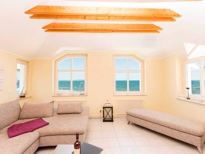 Photo for Whg. 7 - Villa Strandeck directly on the beach, with Baltic Sea view, TOPLAGE