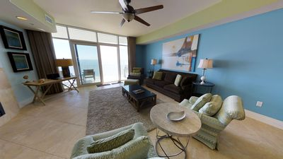 Spacious 3 Bedroom Condo That Sleeps 10; Gulf Front Views with Free Wifi and DVD's!