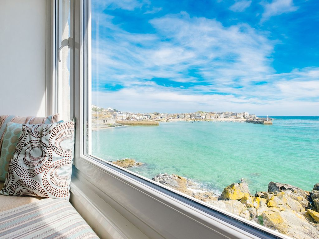 Saint Ives Cottage Rental   Looking To The Left From The Living Room   St  Ives Part 77