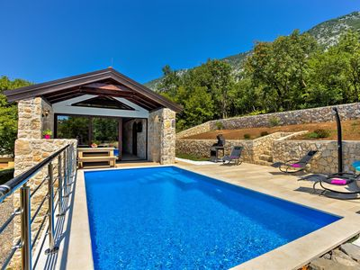 Photo for This 2-bedroom villa for up to 6 guests is located in Crikvenica and has a private swimming pool, ai
