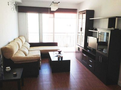 Photo for Paseo Larios apartment in Torre del Mar with WiFi, private terrace, balcony & lift.