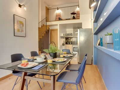 Photo for Park Guell Triplex - Two Bedroom Apartment, Sleeps 6