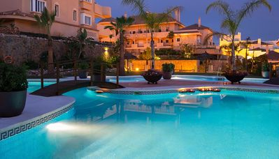 Photo for luxury apartment at award winning Aloha Hill Club Marbella