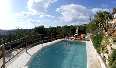 Photo for DOLCI COLLINE- Beautiful Villa over the Hills Umbria - 50min from Rome