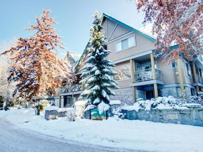 Photo for NEW Whistler Village 2BR w Hot Tub- Walk to Lifts, Shops & more (WEEKLY/MONTHLY DEALS)