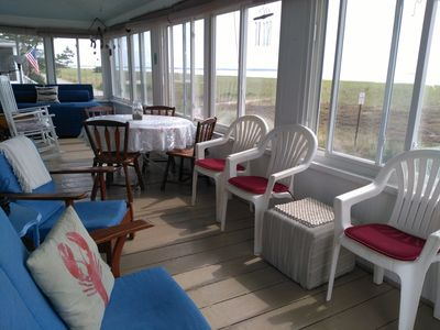 Photo for Waterfront with ocean/dune views from every room!