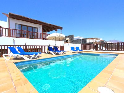 Photo for Casa Anna, Stunning Villa with Sea Views, Private Pool and Hot Tub