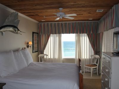 Master bedroom with fabulous view of the gulf!