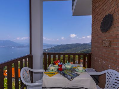 Photo for Nicoletta's Lake View On Stresa Hills, Stresa, Italy