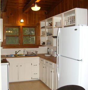 The remodeled kitchen!