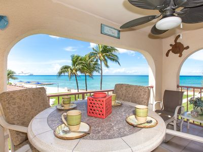 Picture Perfect View of the Caribbean! Georgetown Villa #203  by CaymanVacation