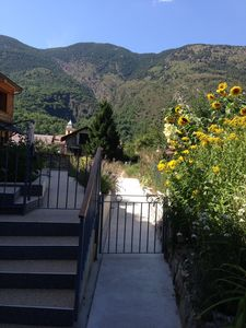 Photo for Triplex in the village center 5 minutes from the ski resort La Colmiane