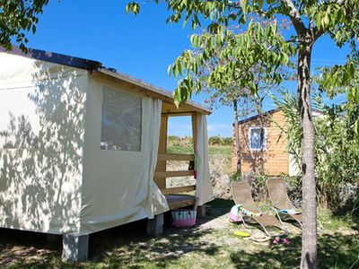 Photo for Ludo Camping Parc *** - Bungalow 3 pieces 4 people without toilets