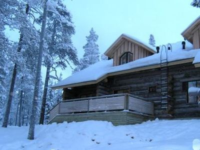 Photo for Vacation home Maahisenrinne 1 as 4 in Äkäslompolo - 6 persons, 2 bedrooms