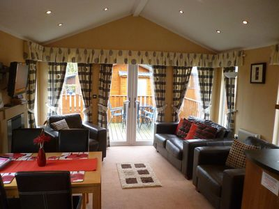Photo for 2 Bedroom, Dog friendly Lodge In the Lake District