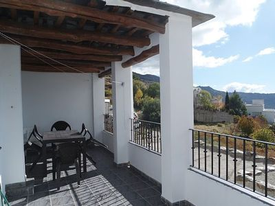 Photo for Terrace with beautiful village / mountain views. Parking. Indoor fireplace