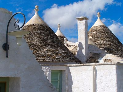 Trulli (Typical Apulian limestone building)